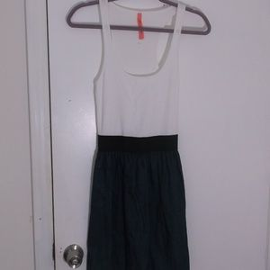 NWOT Eight Sixty Blue Denim Tank Dress S Jr
